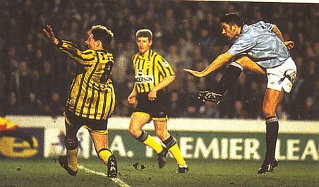 sheff weds home  1992 to 93 action3