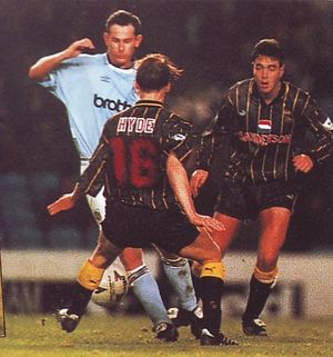 sheffield wednesday home 1993 to 94 action