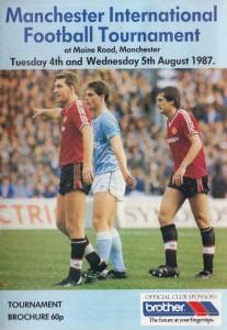 Manchester International Football Tournament 1987 to 88 prog 2 matches