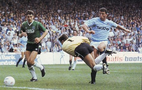 PLYMOUTH HOME 1987 TO 88 stewart goal