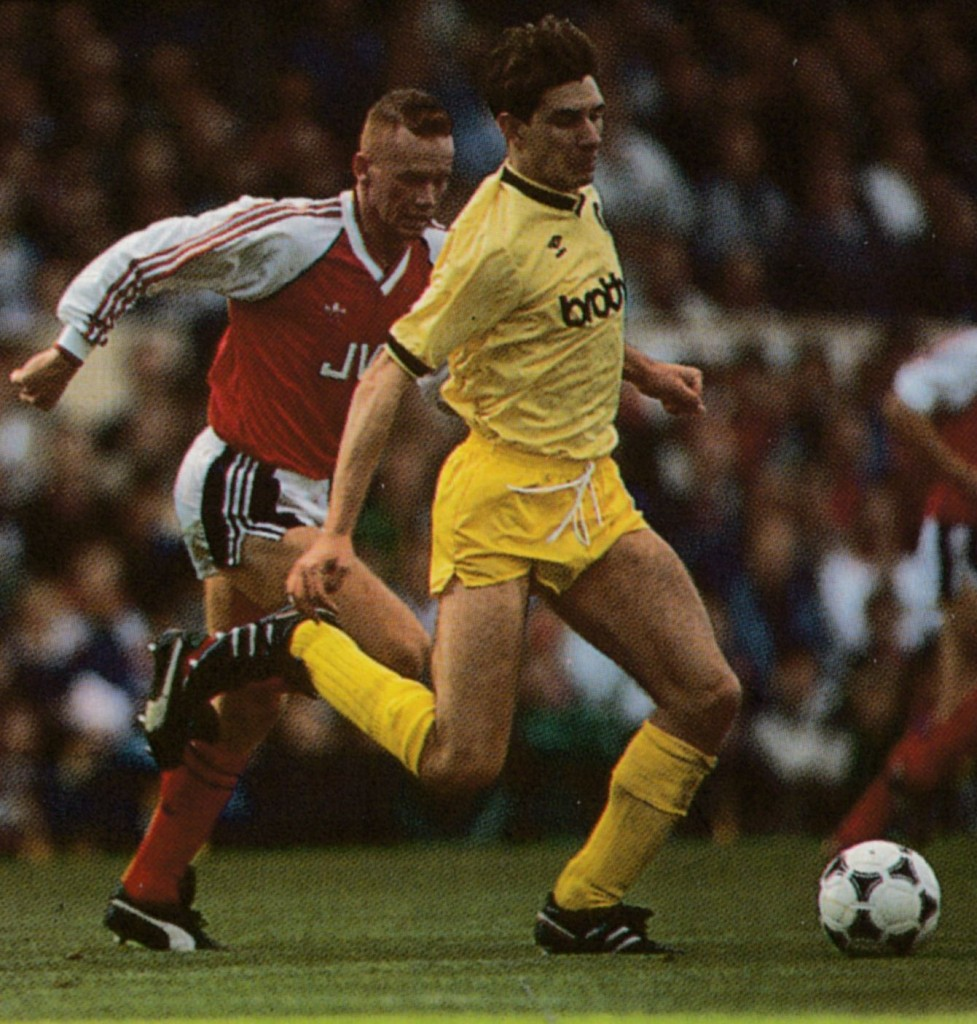 arsenal away 1989 to 90 action