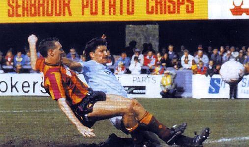 bradford away 1988 to 89 morley goal