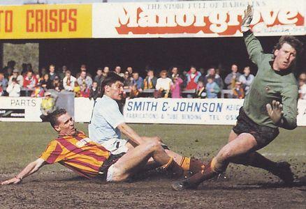 bradford away 1988 to 89 morley goal2