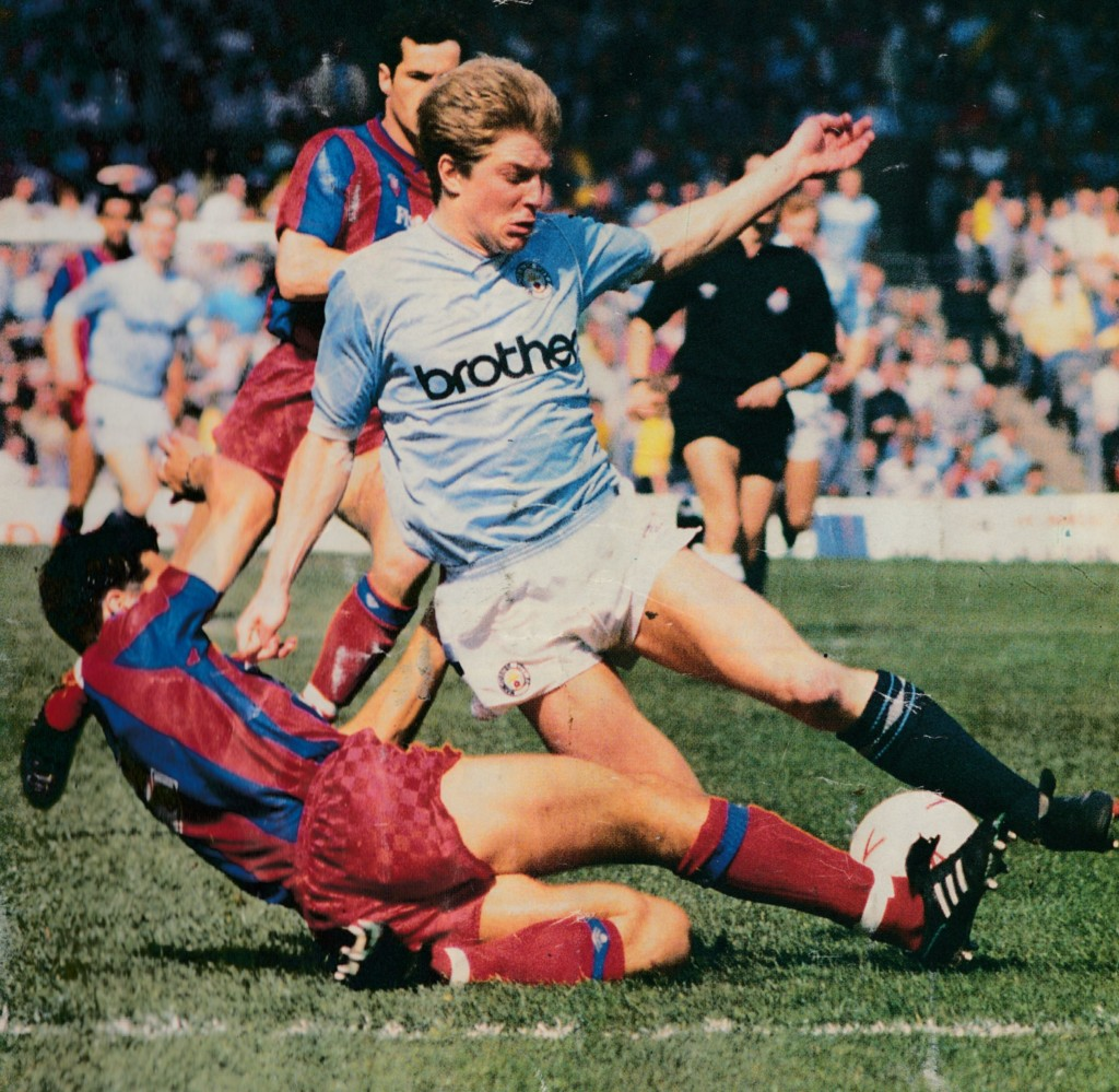 crystal palace home 1988 to 89 action5