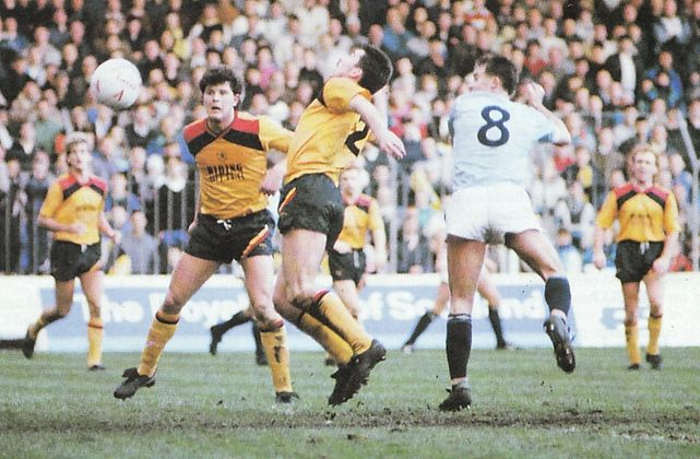 hull home 1988 to 89 moulden goal