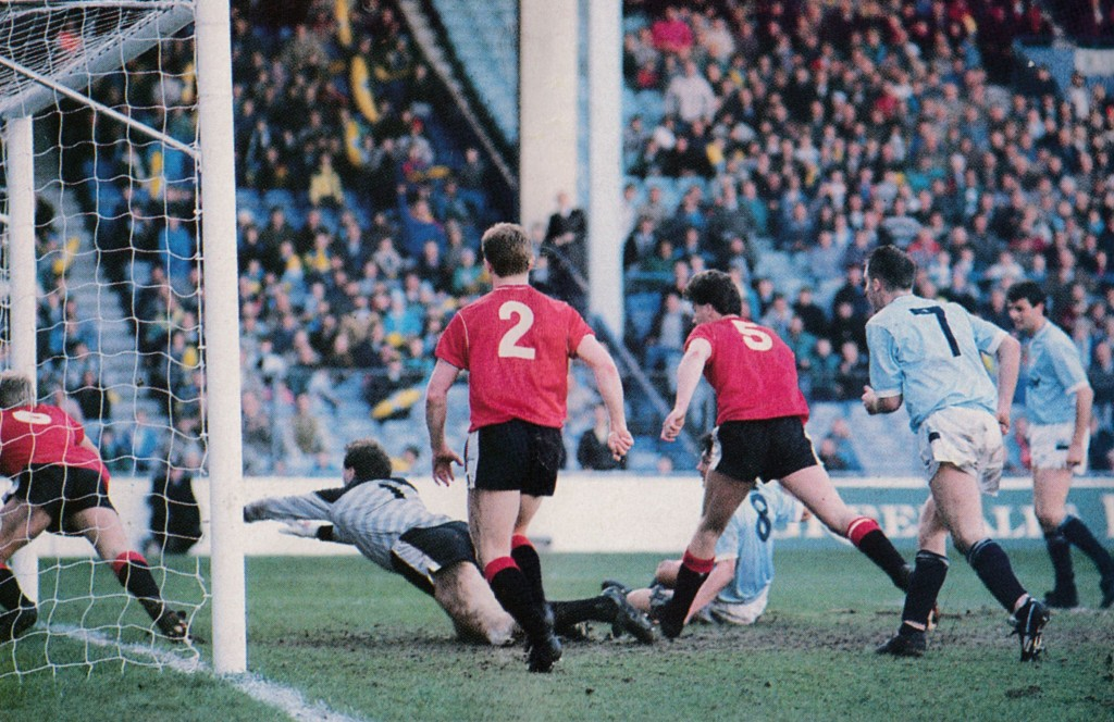 leicester home 1988 to 89 morley citys 3rd goal