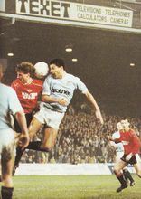 leicester home fa cup 1988 to 89 action2
