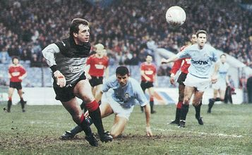 leicester home fa cup 1988 to 89 action3