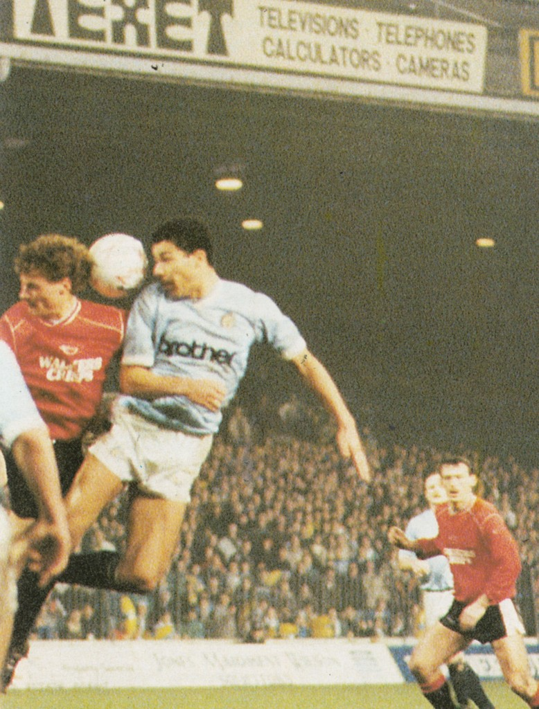 leicester home fa cup 1988 to 89 action6