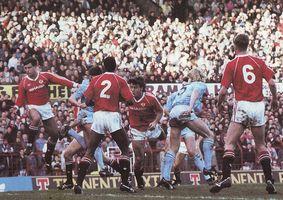 man utd away 1989 to 90 action