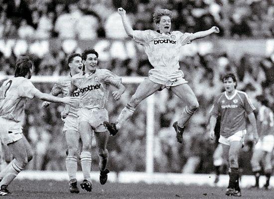 man utd away 1989 to 90 brightwell goal