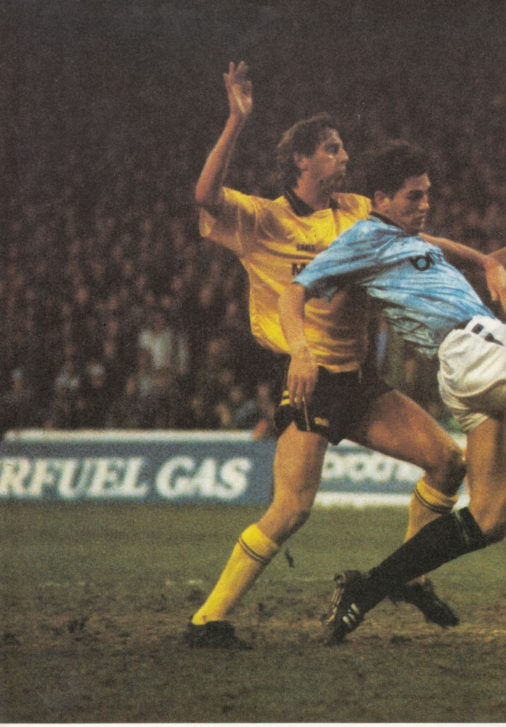 millwall home 1989 to 90 White goal 1-0