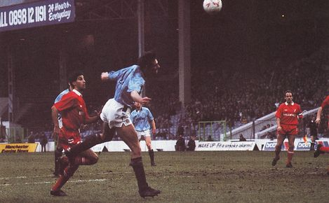 millwall home fa cup 1989 to 90 action