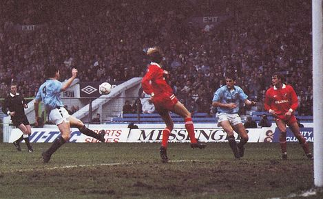 millwall home fa cup 1989 to 90 action2