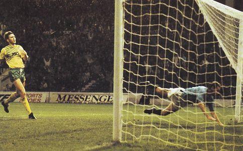 norwich league cup 1989 to 90 allen goal