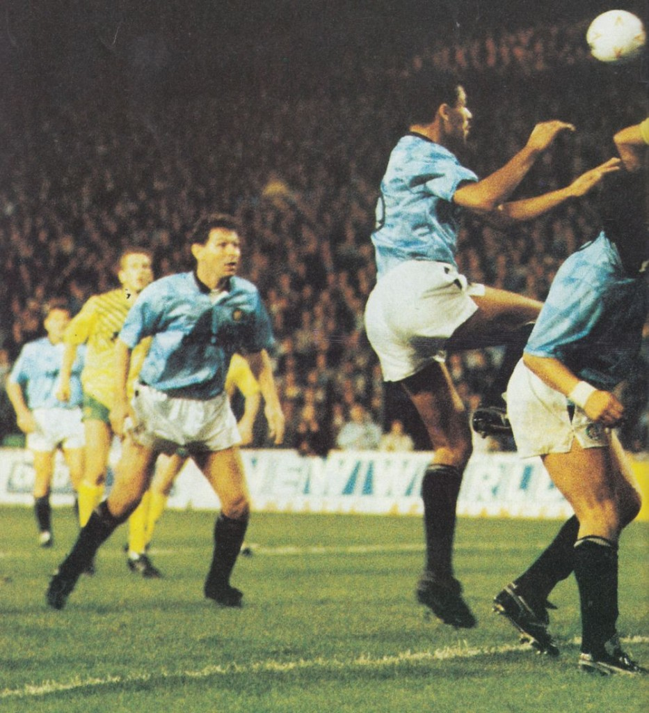 norwich lge cup home 1989 to 90 action6