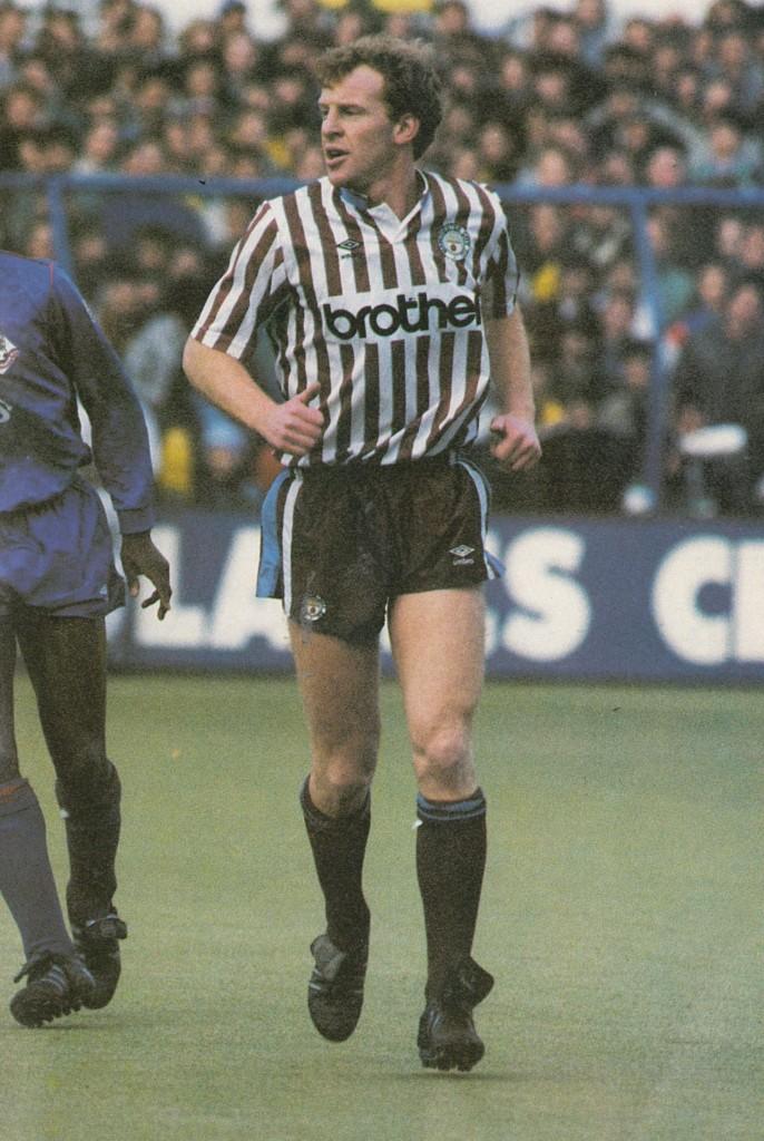 oldham away 1988 to 89 megson debut 2