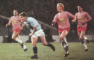 sheff utd home littlewoods cup 1988 to 89 2nd moulden goal