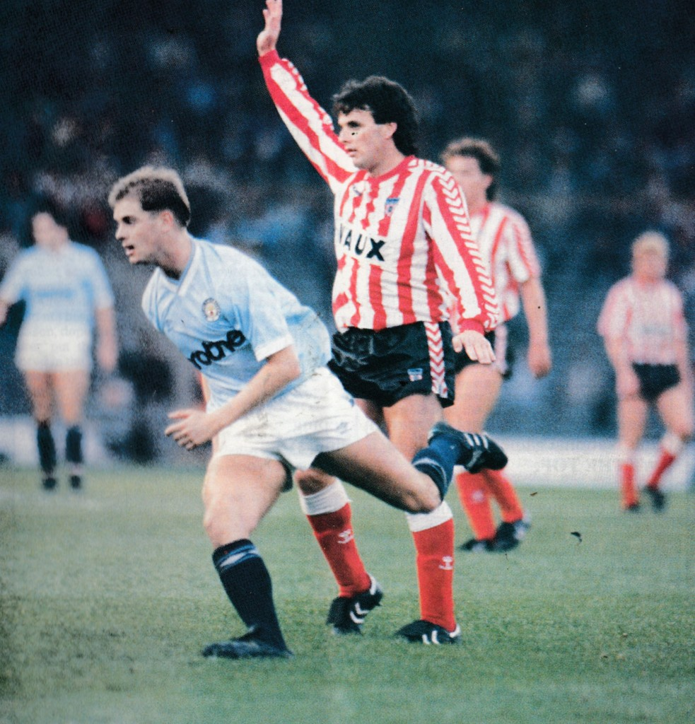 sunderland home 1988 to 89 action3