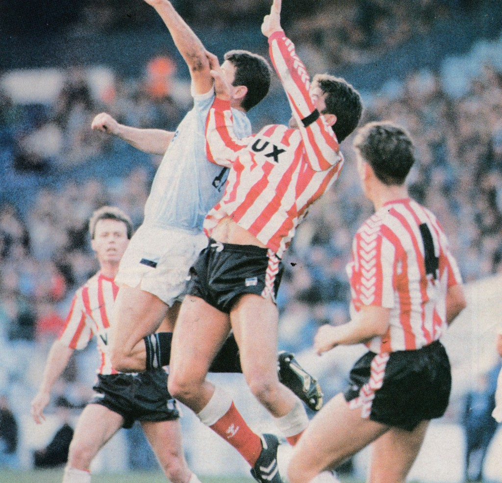 sunderland home 1988 to 89 action5
