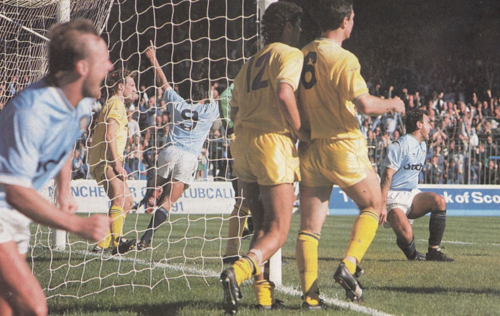 walsall home 1988 to 89 morley goal
