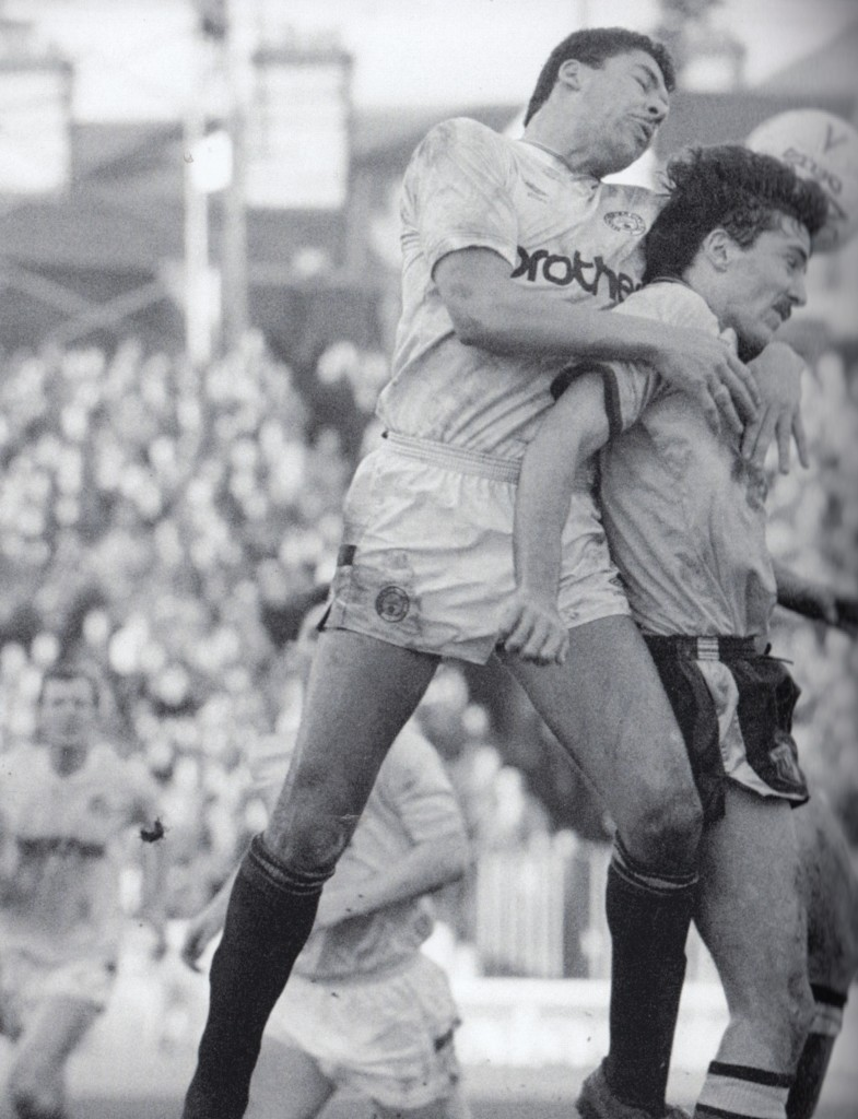 watford away 1988 to 89 action