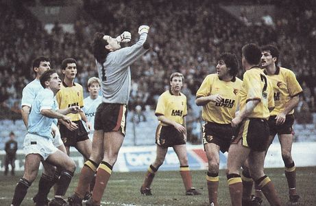 watford home 1988 to 89 action