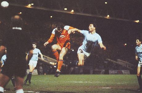 blackpool home fa cup replay 1987 to 88 stewart goal