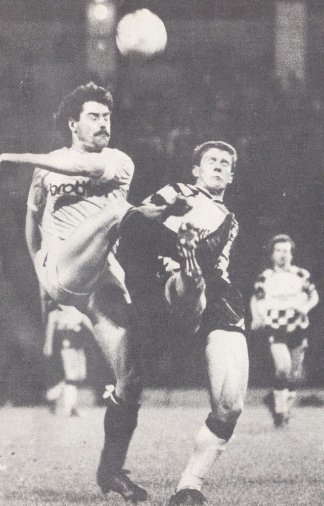 huddersfield fa cup home replay 1987 to 88 action4