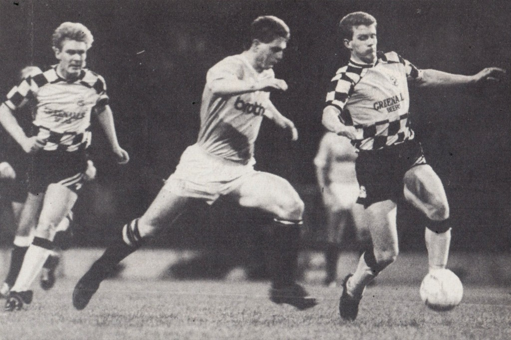 huddersfield fa cup home replay 1987 to 88 action5