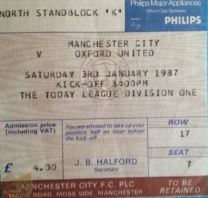 oxford hom 1986 to 87 ticket