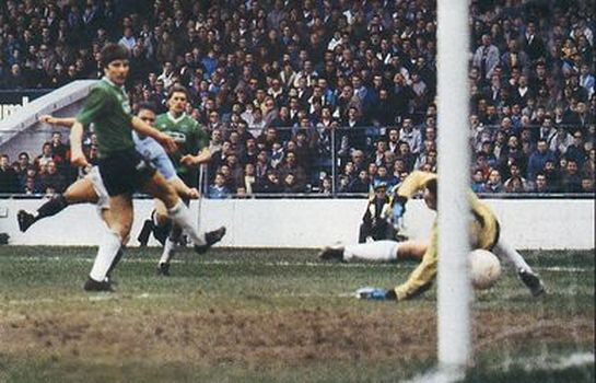 plymouth fa cup home 1987 to 88 SIMPSON goal