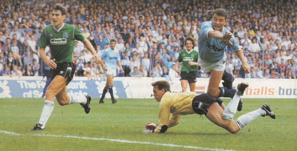 plymouth home fa cup 1987 to 88 action9