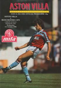 aston villa away 1985 to 86 prog