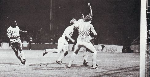 blackpool league cup home 1984 to 85 wilson goal