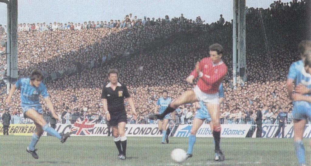 charlton home 1984 to 85 phillips goal