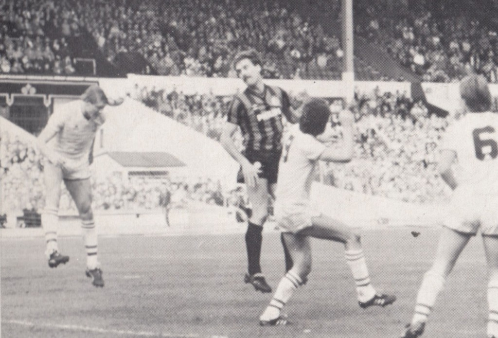 chelsea full members cup final 1985 to 86 action 7