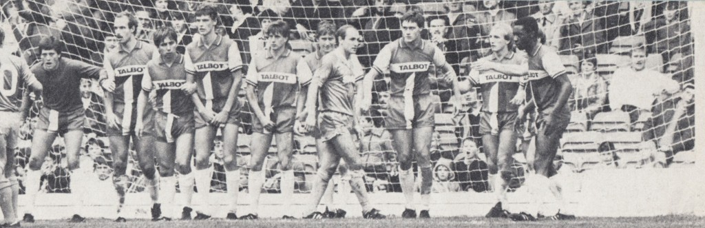 coventry home 1982 to 83 action caton goal2