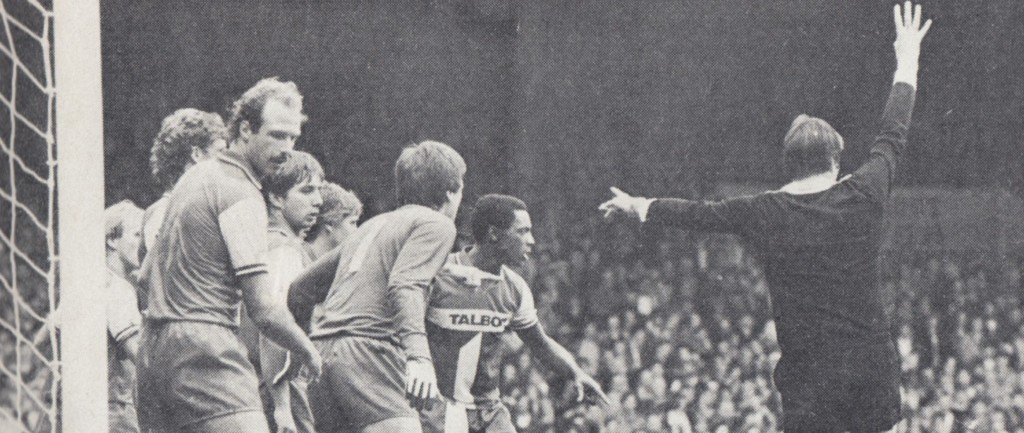 coventry home 1982 to 83 action caton goal3