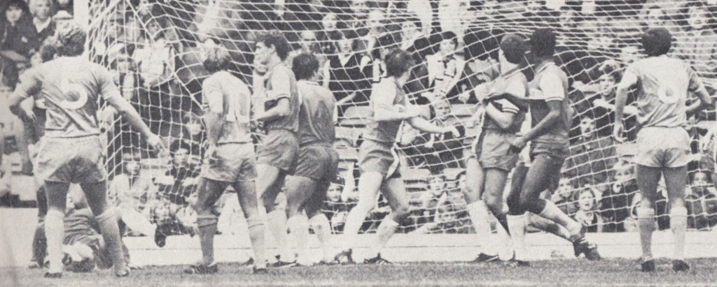 coventry home 1982 to 83 action caton goal5