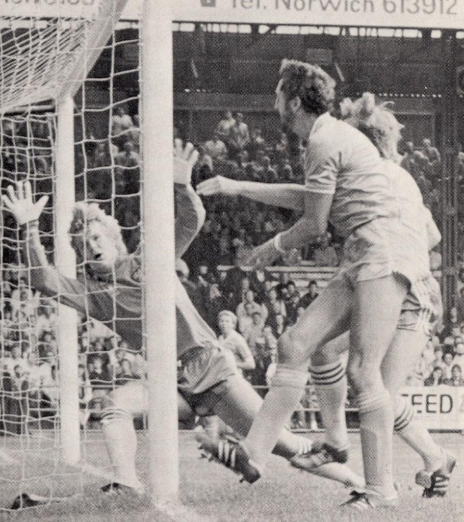 norwich away 1982 to 83 cross goal