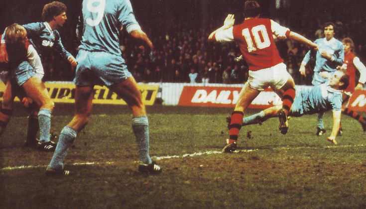 arsenal home 1982 to 83 action