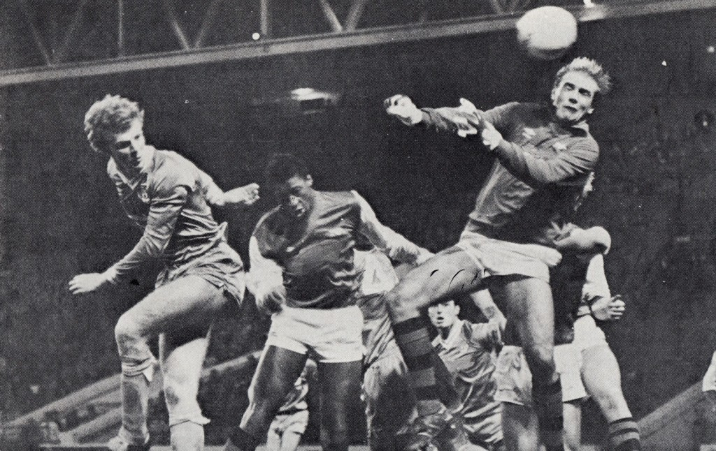 arsenal home 1982 to 83 one of catons goals