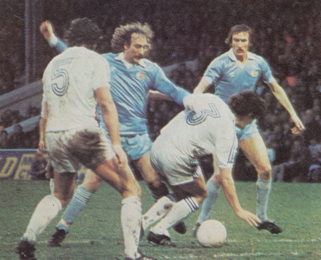 crystal palace fa cup 1980 to 81 action 6