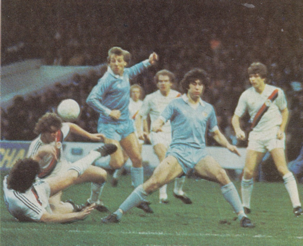 crystal palace fa cup 1980 to 81 action 7