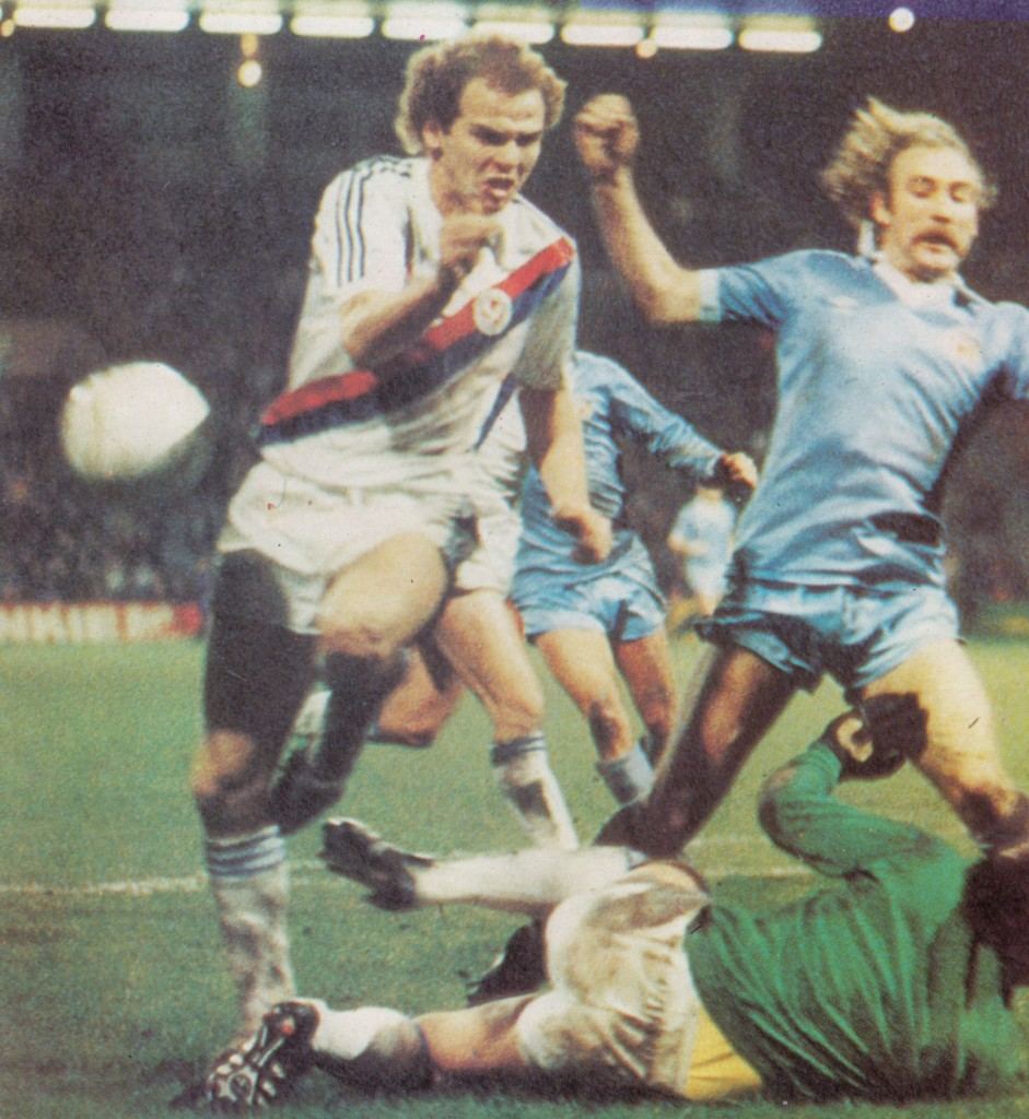 crystal palace fa cup 1980 to 81 action 8