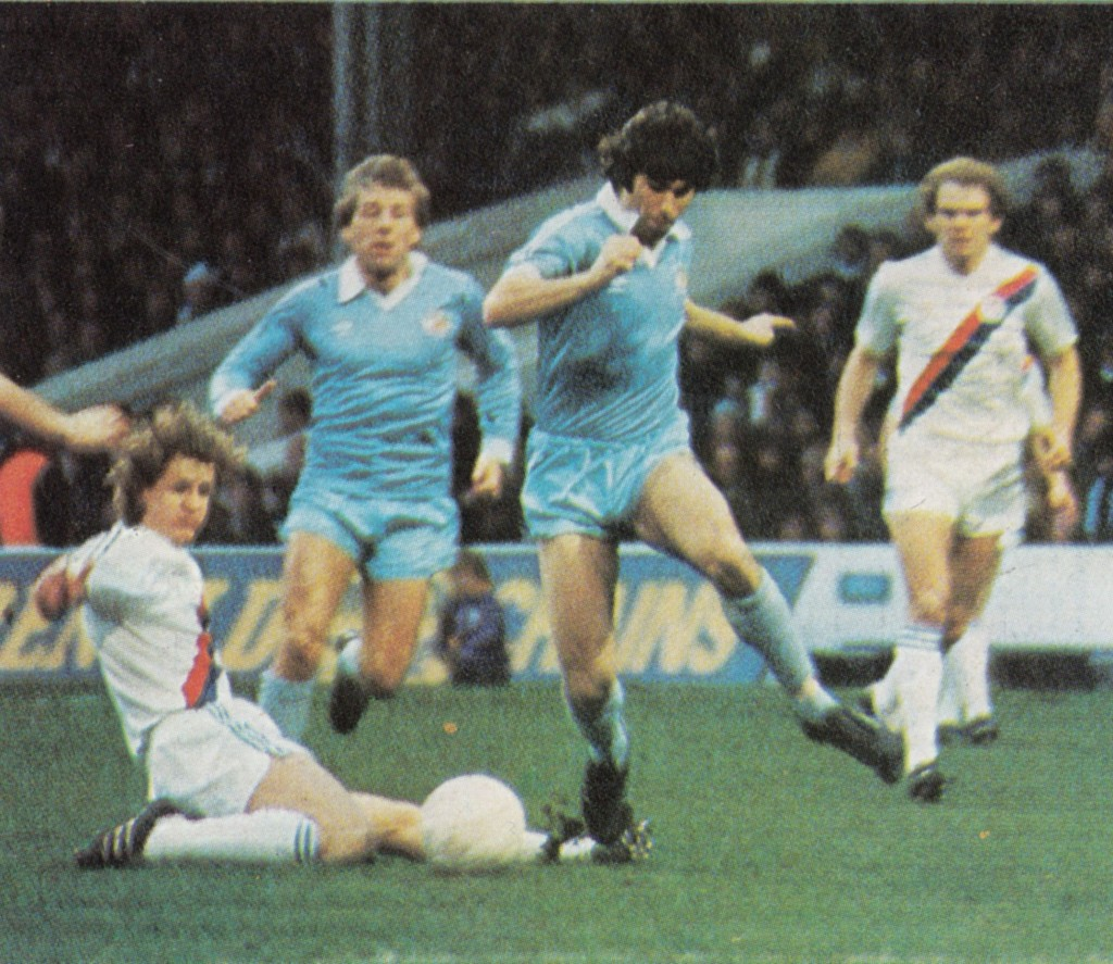 crystal palace fa cup 1980 to 81 action 9