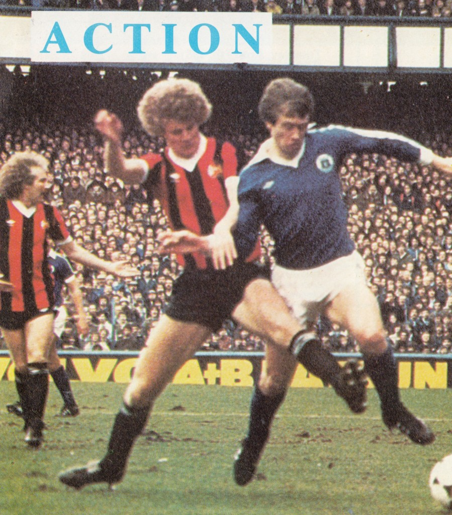 everton away fa cup 1980 to 81 action10