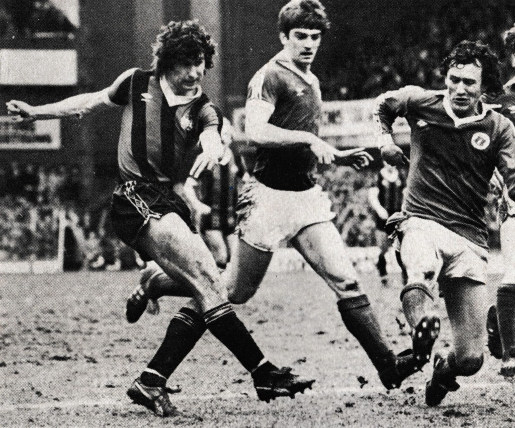 everton away fa cup 1980 to 81 action5