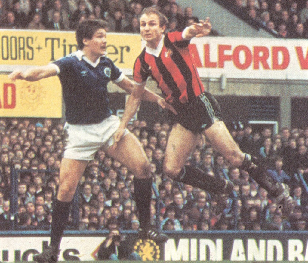 everton away fa cup 1980 to 81 action6